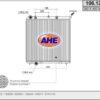 106.122 – AHE, Ψυγείο CITROEN C2/C3 I-II/DS3, PEUGEOT 1007/207/208 I